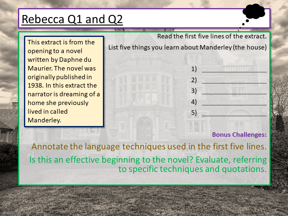 Eduqas English Language Component 1