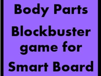 Body Blockbuster game for Smartboard
