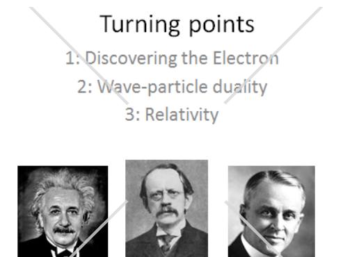 AQA Alevel Physics - Turning Points L5