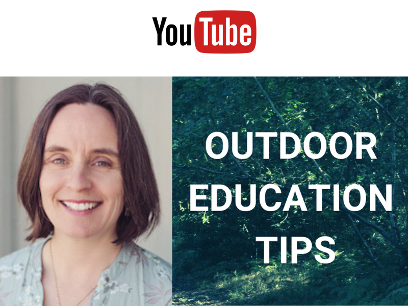 OUTDOOR LEARNING TIPS | WRITING OUTSIDE | RAINY DAYS