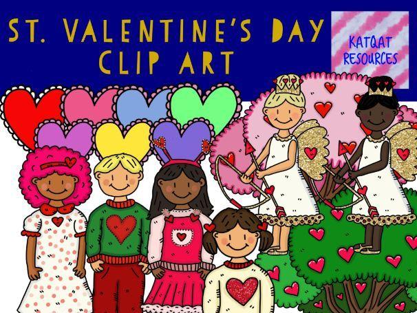 St Valentine's Day Clip Art