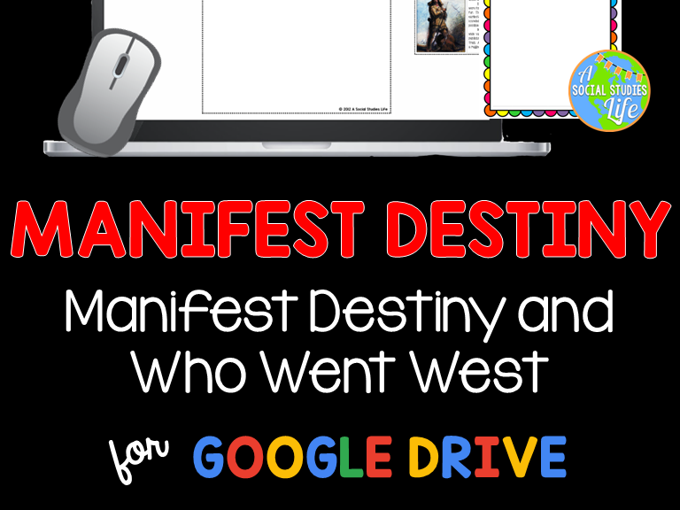 Manifest Destiny - Oregon Trail, Mormon Trail, Mountain Men, 49ers