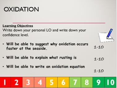 KS3 C2.2 Oxidation reactions