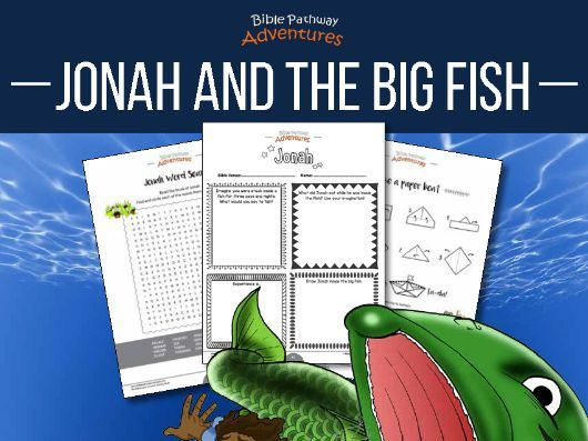 Jonah & the Big Fish Activity Book and Lesson Plans