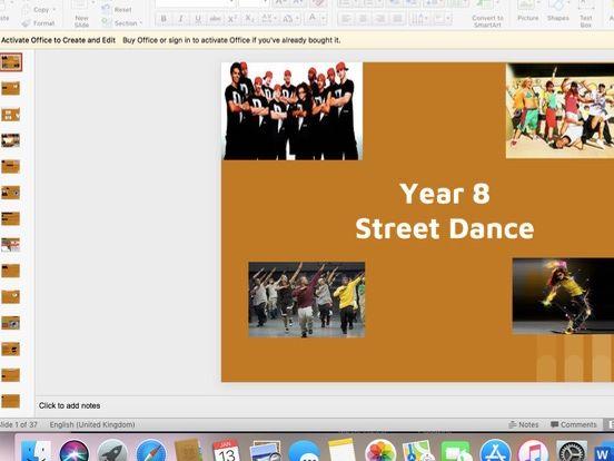 KS3 Street Dance SOW
