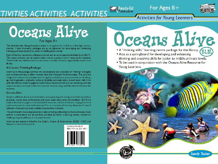 Oceans Alive Activity Book