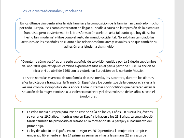 AS level Spanish Revision Booklet