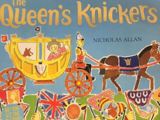 The Queen's Knickers - Sensory Story with Voice Over