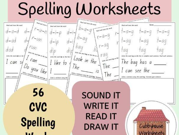 Foundation Spelling Worksheets