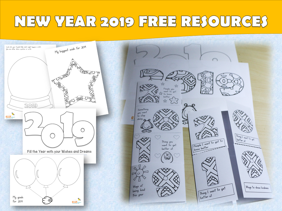 New Year Resource pack - social and emotional