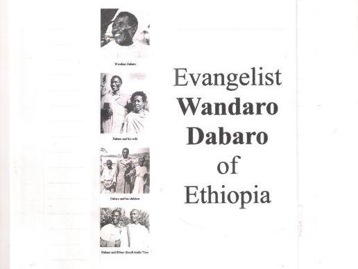 Evangelist Wandaro Dabaro of Ethiopia