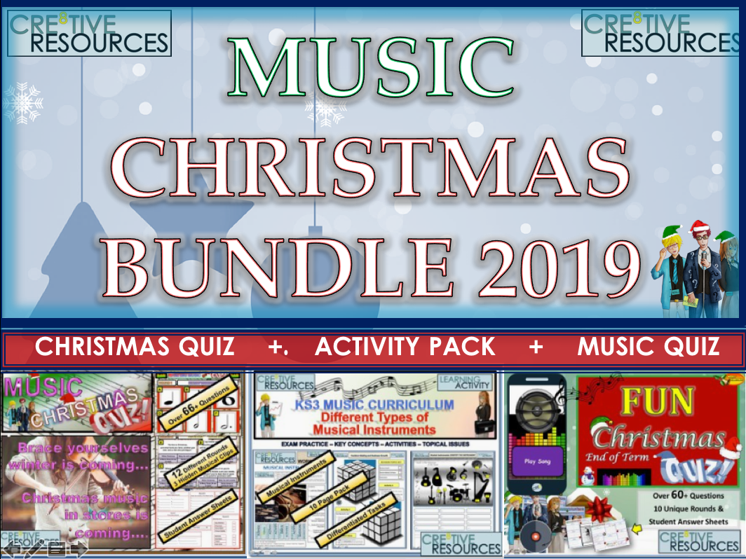 Music Christmas 2019 Bundle