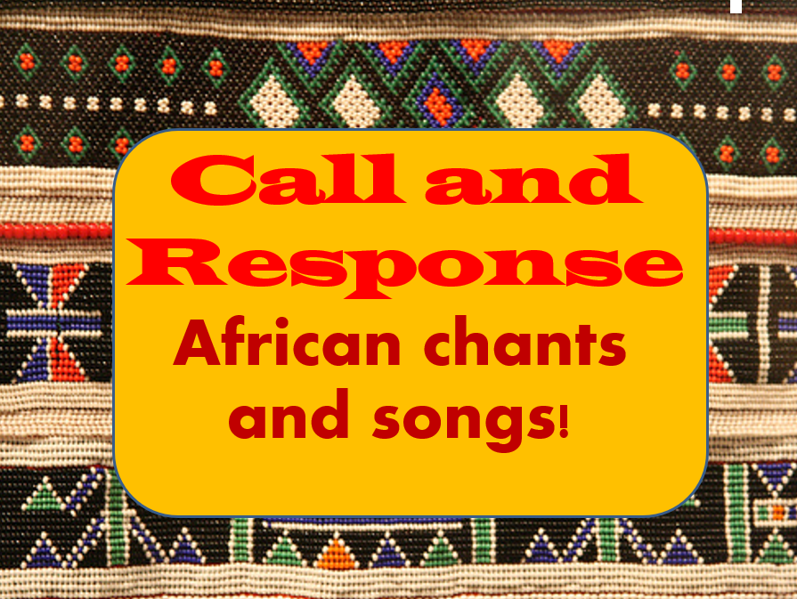 African music/ call and response