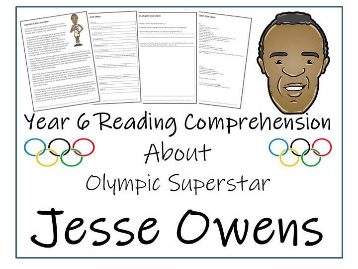 Jesse Owens Reading Comprehension
