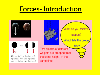 Introduction to Forces- Year 5