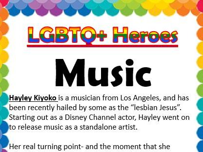 LGBTQ Heroes Collection- Music