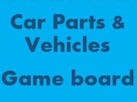 Car parts and Vehicles Game board for Smartboard