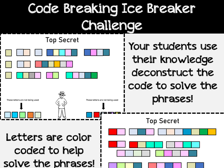 Back to School: Code Breaking: Critical Thinking: Logic Based: Interactive Brain