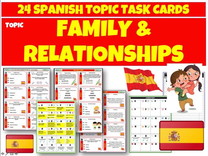 Family and Relationships MFL