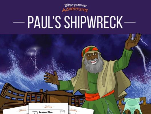 Paul's Shipwreck Activity Book