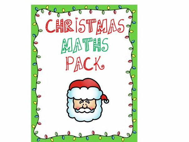 Christmas Maths Pack
