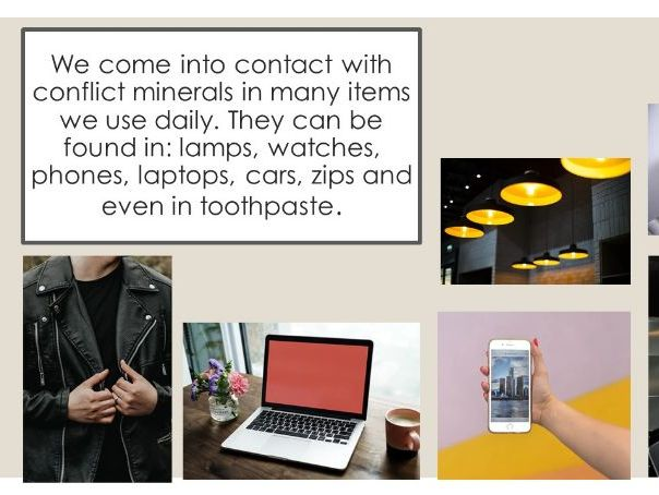 Conflict minerals. Where does your phone come from? Congo Documentary.