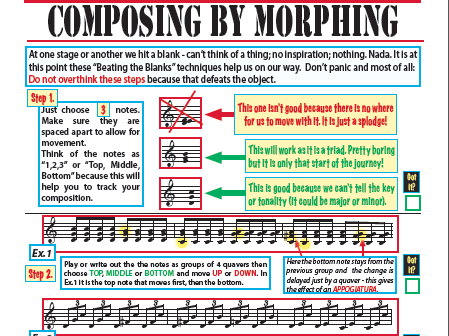Beating the Blanks - Composing when you have no ideas!
