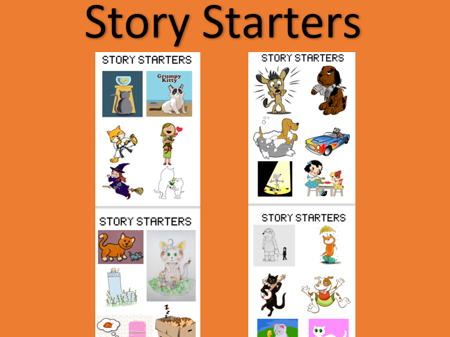 Story Starters with Cats and Dogs