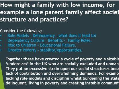 Family Diversity- Sociology (New Spec)