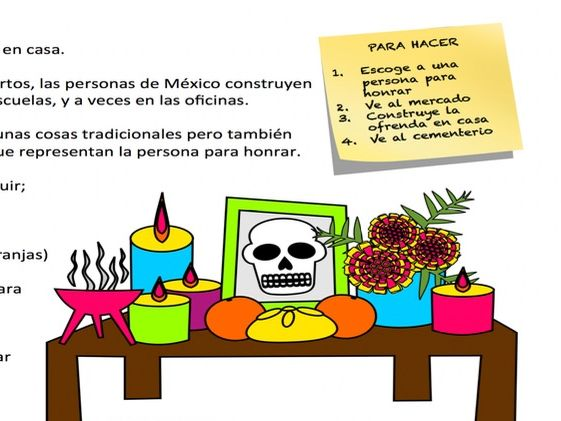 Day of the dead Full lesson with activities and PP