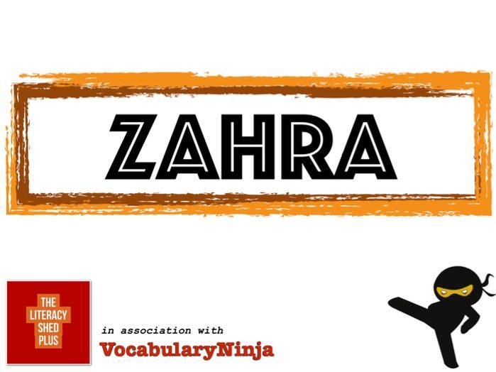 Zahra Vocabulary Pack