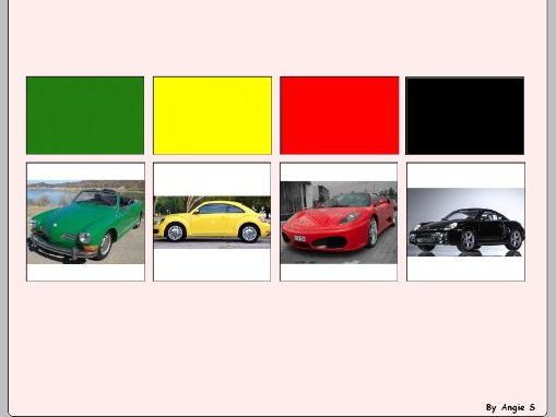 Autism & Special Needs Activity- Car Sorting by Color