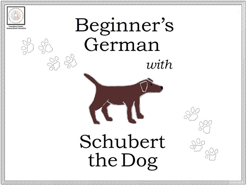 Beginner's German with Schubert the Dog