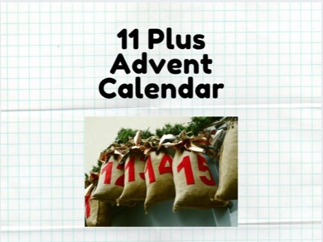 11 Plus Advent Calendar