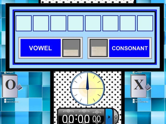 Countdown: Vowel/Consonant/Number Builder Game