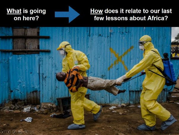 Africa SOW Lesson Nine: Ebola