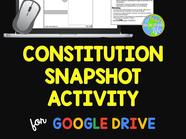 Constitution Snapshot Activity