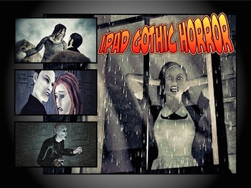 Elements of Gothic Horror for iPad - Augmented Reality Lesson