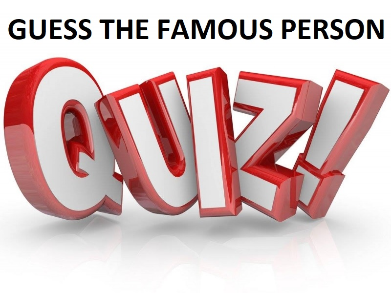 QUIZ POWER POINTS - Two Guess the Famous Person Quizzes