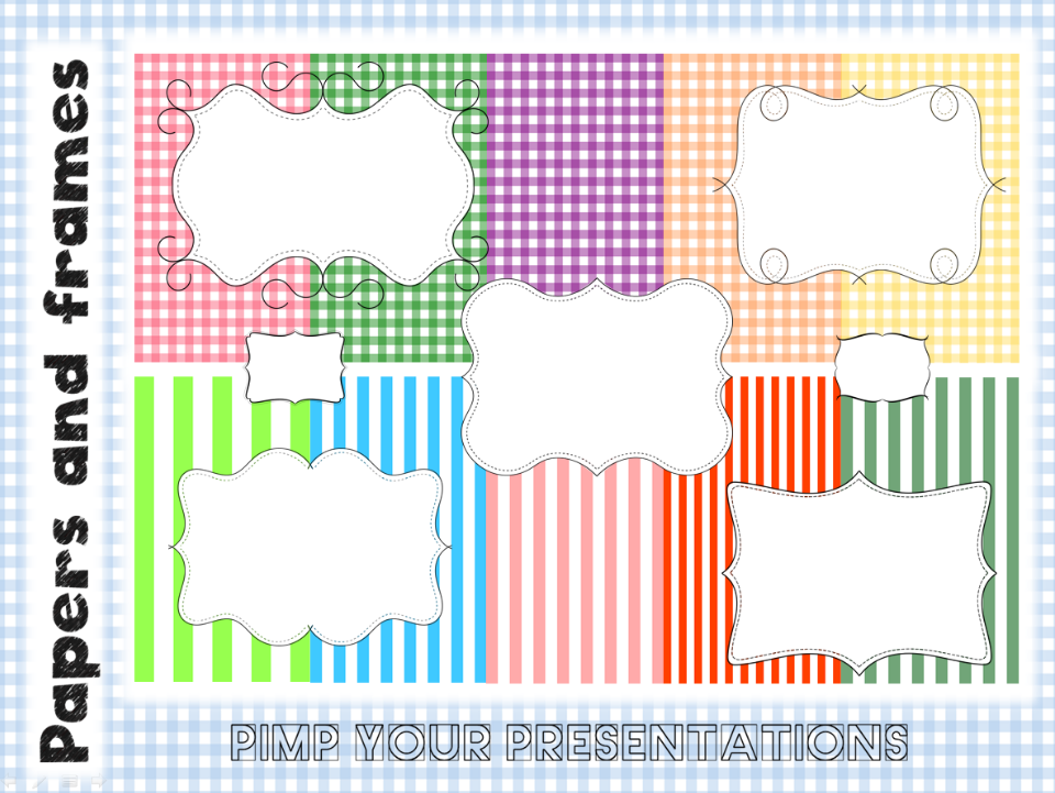 Digital papers and frames