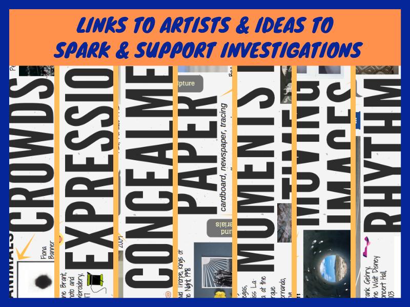 Seven 2020 GCSE Art theme mind-maps