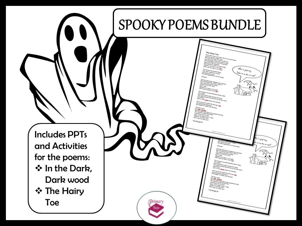 Spooky Poetry Lessons for KS1