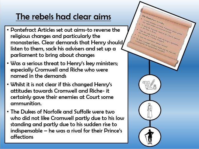 Tudor Rebellions How Threatening was POG