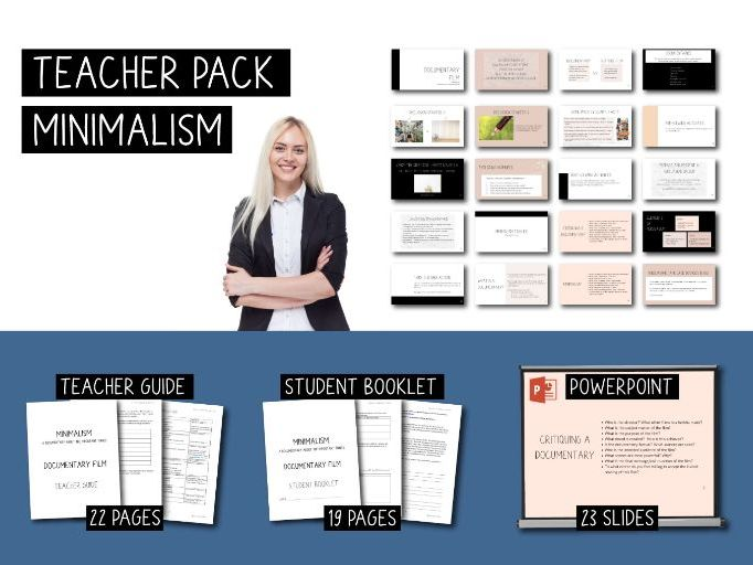 Teacher Pack - Minimalism - a documentary