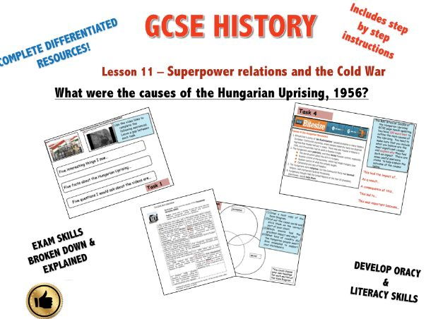 Edexcel Superpower Relations & Cold War L11 What were the causes of the Hungarian Uprising?