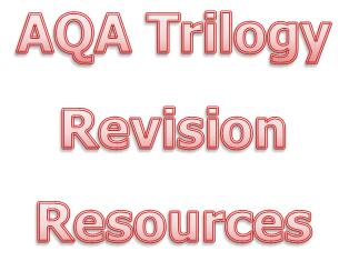 AQA Trilogy Paper 1 and 2 Biology KS4 revision quiz