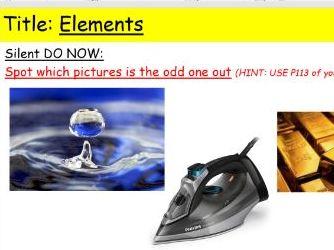 KS3 Elements Activate
