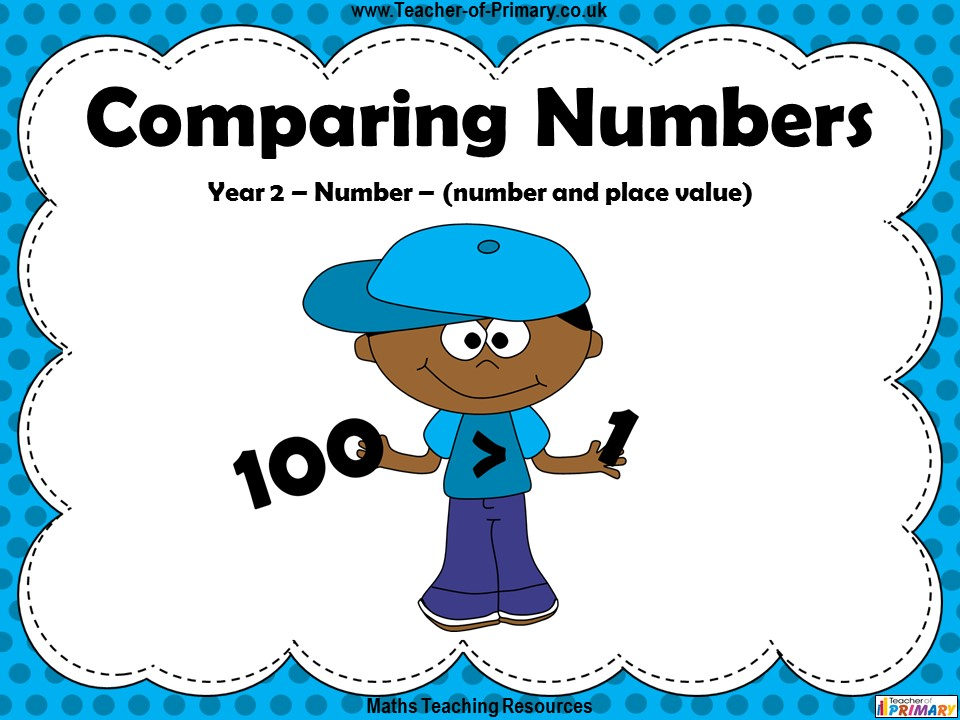 Comparing Numbers - Year 2