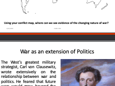Global Politics: The Changing Nature of Warfare