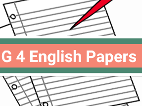 English Exam papers for grade 4 level-- Assessment 3 sections[comprehensions, creative writing & grammar]